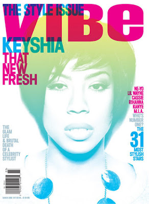 Keyshia Cole Covers VIBE