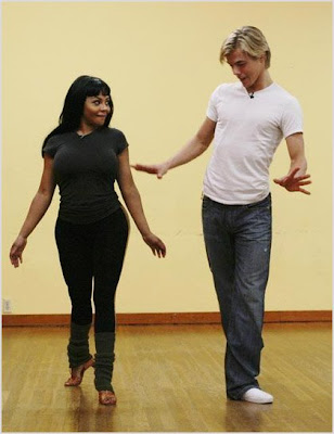 lil+kim+dancing Lil Kim Rehearses For Dancing With The Stars