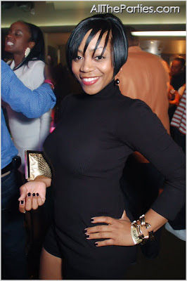 LaTavia At LeToya's Birthday Bash