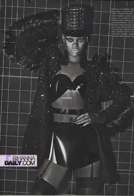 Rihanna Italian Vogue Shoot