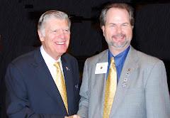 09-10 RI Pres. Kenny & RRIMC Bevin Wall at Carolinas' PETS