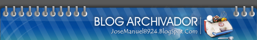 JoseManuel 8924 | Blog  Archivador
