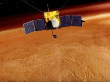 Sun Steals Martian Atmosphere
