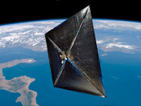 NASA's First Solar Sail NanoSail-D Deploys in Low-Earth Orbit