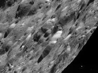 Cassini Rocks Rhea Rendezvous