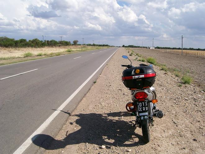 Sobre ruta 15