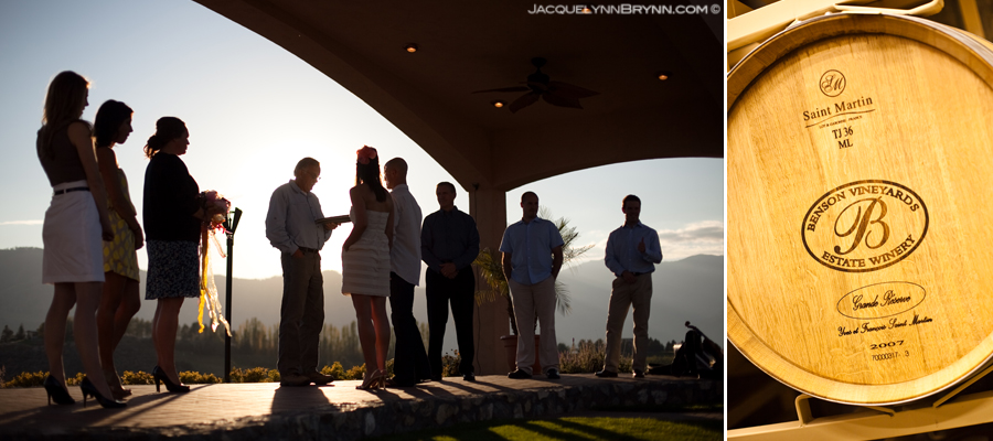 Benson Vineyards | Chelan, WA Wedding