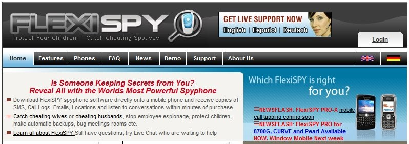 do mobile spy software work iphone