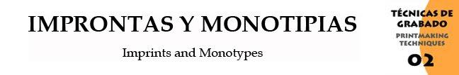 Improntas y Monotipias