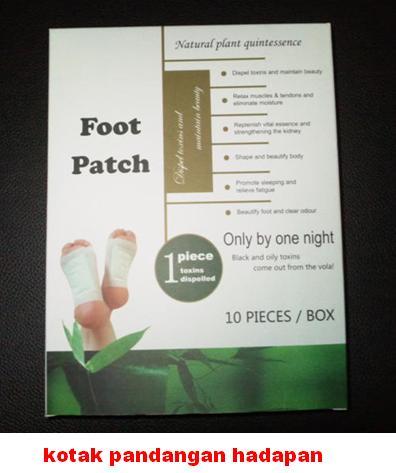 HEALTHY FOOT PATCH (KOYOK KAKI dalam kotak)