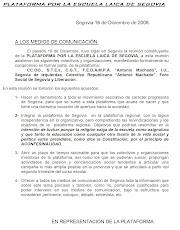 COMUNICADO PRENSA 16-12-08