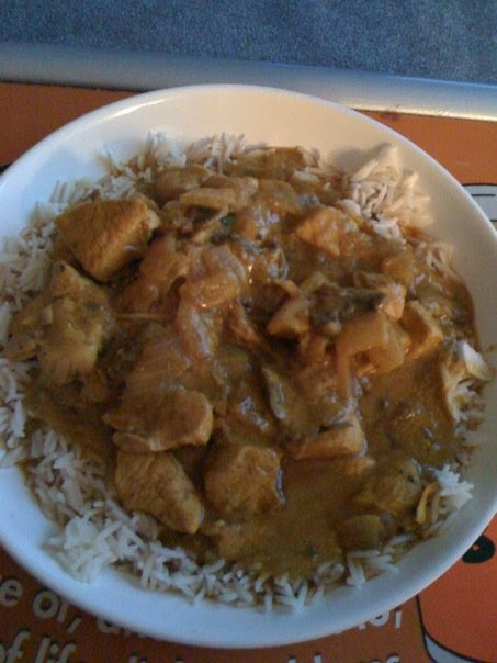 Slimming World recipes: Chicken pasanda (mild curry)