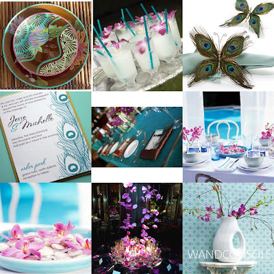 Wedding Ideas on Purple And Turquoise Wedding Themes