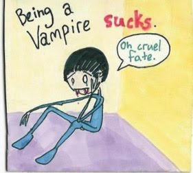 being a vampire sucks