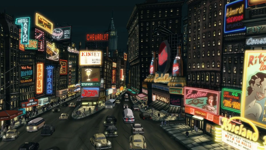 Nueva York segun el film Chico y Rita