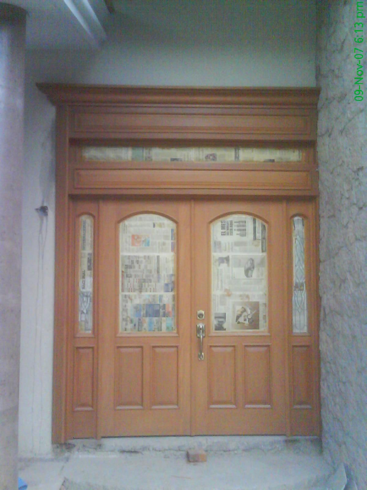 Puertas de ingreso jose cedillo for Puerta de ingreso principal