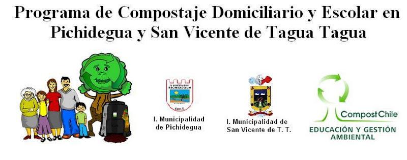 Programa de Compostaje en Pichidegua y San Vicente