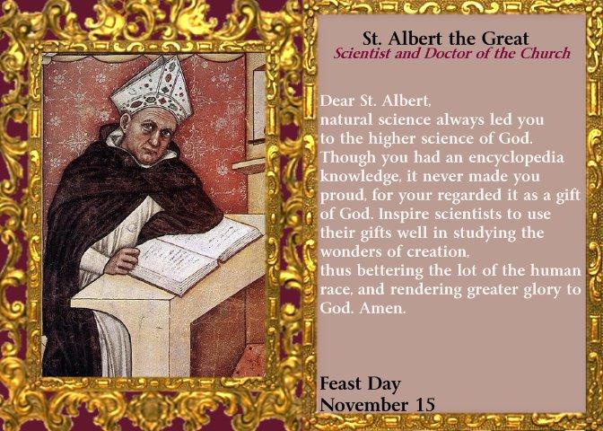 St. Albert the Great, bishop, confessor and doctor dans immagini sacre 28096_105156422866119_100001152848859_41608_7412916_n