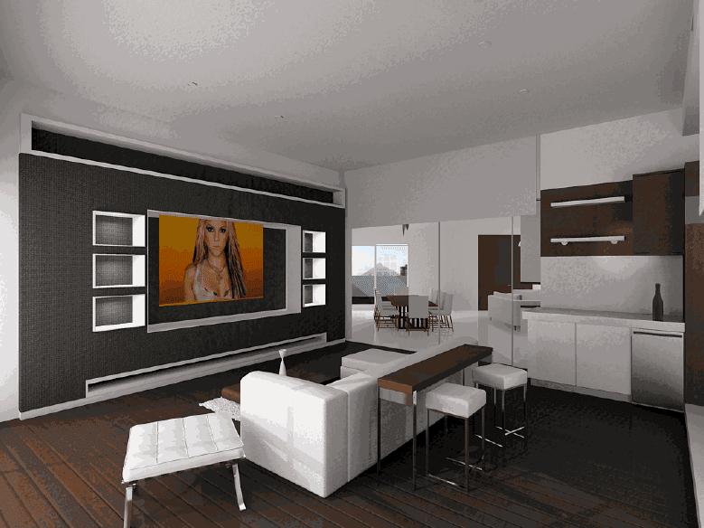 Spark renders for Interior departamento