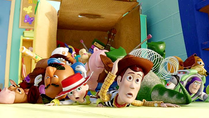 toy story 3 review Though heralded as the first feature length film to be produced entirely on computers, it's the human input that makes toy story work so well a deceptively simple story 'peopled' with charming, funny, and well-realised characters and highly enjoyable fare for anyone who ever owned a toy the.