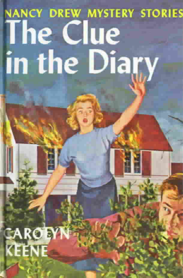 I did read some Nancy Drew books, with pictorial boards, growing up, ...