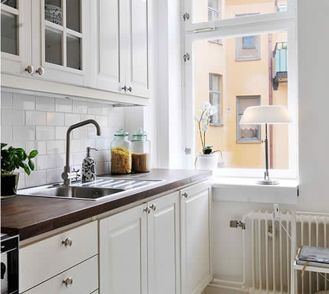White Kitchen Designs - Interior Home Design