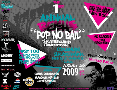 Skate Party Flyer http://www.sohnup.blogspot.com/