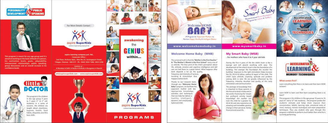 School Brochure Example