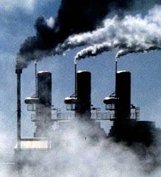contaminación aérea por fábricas