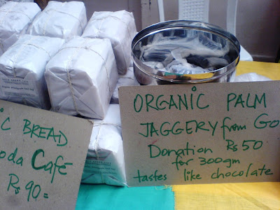 This Week at the Farmer's Market - Whole wheat bread and Palm Jaggery