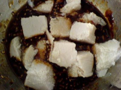 Miso-Sesame Baked Tofu