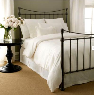 Creategirl scouting iron beds under 1000 - Ethan allen metal bed ...