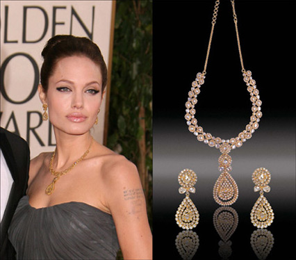 Celebrity Jewels; Angelina Jolie