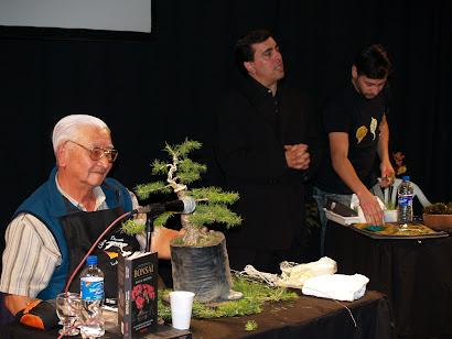 Nuestro Prof. Hideo Sugimoto, dando el cierre de oro, en cada exposición.