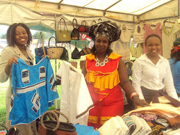A Woman MSE Enterpreneur displays her product