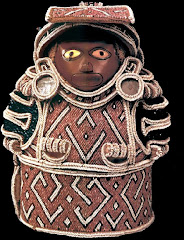Caribbean idol with transculturation.