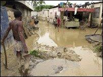 Street in Haiti.
