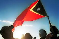 East Timor flag.Флаг Восточного Тимора