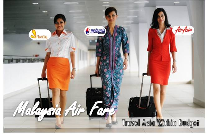 Malaysia Airlines, Air Asia & Firefly