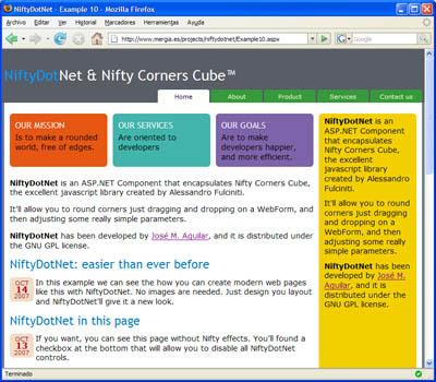 Ejemplo de uso de NiftyDotNet