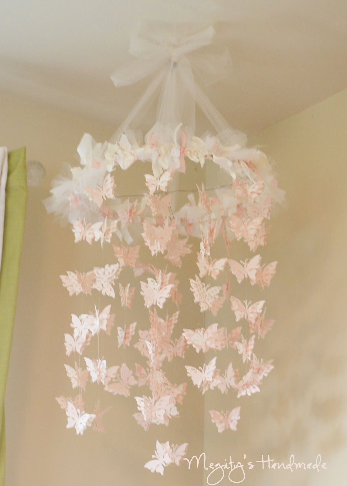 A butterfly chandelier megitys handmade oopsey daisy a butterfly chandelier megitys handmade mozeypictures Images
