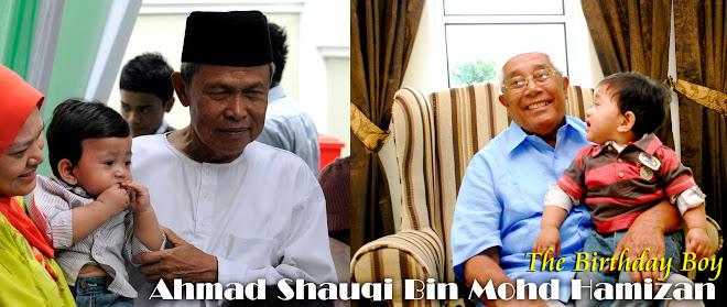 Majlis Ulangtahun Pertama Ahmad Shauqi @ Kota Damansara
