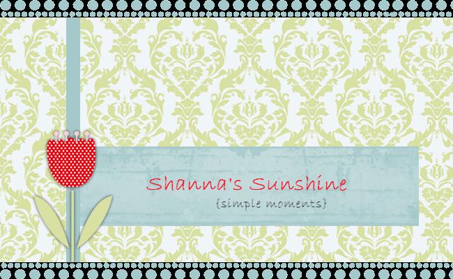 Shanna's Sunshine