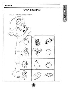 PAG19 atividades para trabalhar na semana da alimentação para crianças