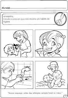 corpo,+sentido+e+higiene+(6) higiene do corpo para crianças