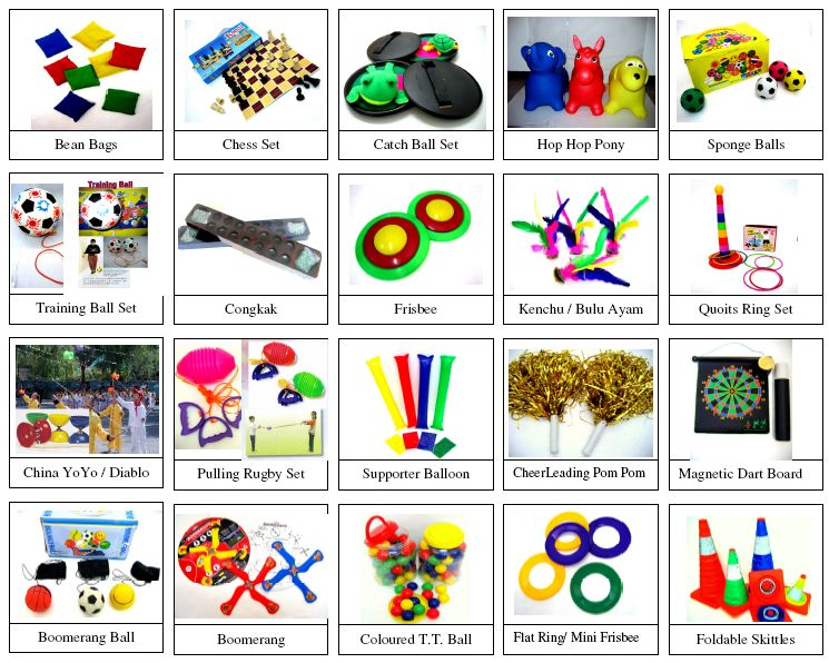 Antara Sumber PLT : Alat-alat Sukan dan Permainan