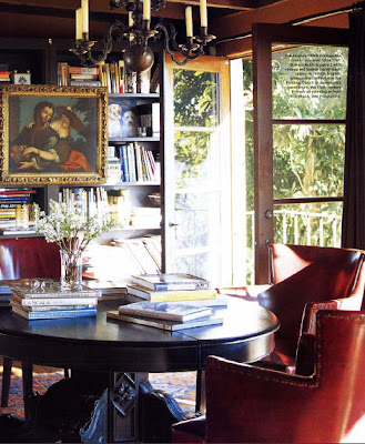 Habitually chic shhh we 39 re eating for Dining room library