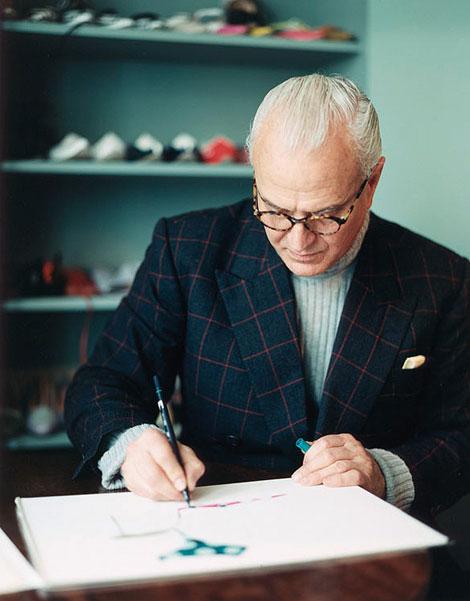Interior sweet design the charming mr blahnik for Shoe designer manolo blahnik