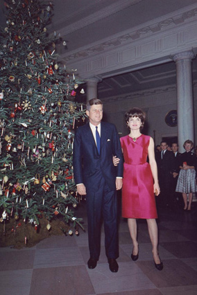 White House Christmas 1962