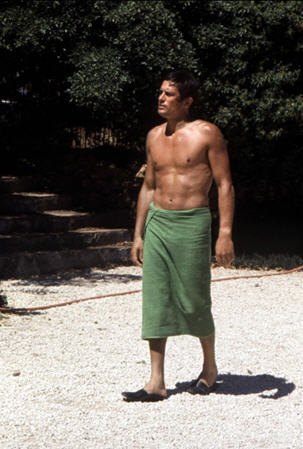 Habitually chic la piscine for Alain delon la piscine